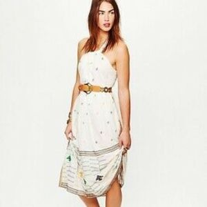 Free People New Romantics Etched Maxi Dress